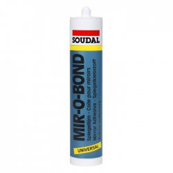 Soudal - neutral silicone for MiroBond mirrors