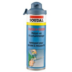 Soudal - cleaning fluid for foams and Click & Clean guns