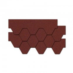 Kerabit - Kerabit K + bituminous shingle Honeycomb