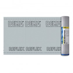 Dorken - vapor barrier film with aluminum Delta-Reflex screen roll