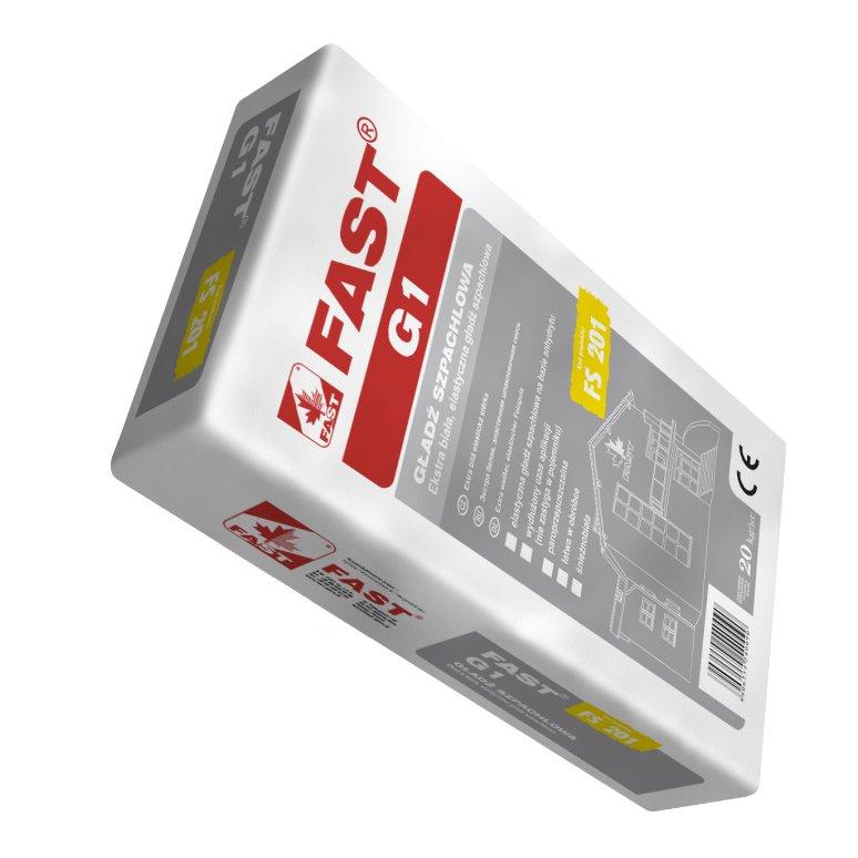 Fast Elastyczna Gładź Szpachlowa Fast G1 Construction Materials In