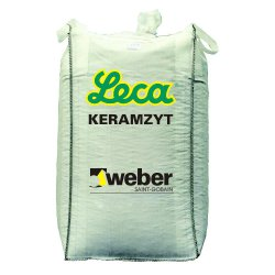 Weber Leca - expanded clay for mortars