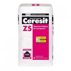 Ceresit - adhesive mortar for polystyrene ZS