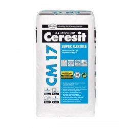 Ceresit - Super Flexible CM 17 high-elastic adhesive mortar
