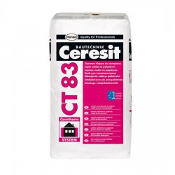Ceresit - adhesive adhesive for foam polystyrene CT 83