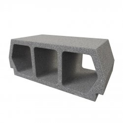 Konbet - Teriva 24/60 Base ceiling block, 3-chamber, concrete