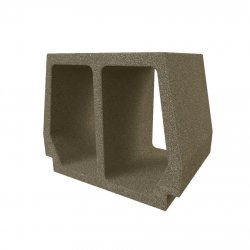 Konbet - Teriva 34/45 Strong / Long ceiling block, expanded clay