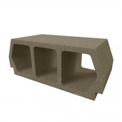 Konbet - Teriva 24/60 Base ceiling block, 3-chamber, expanded clay
