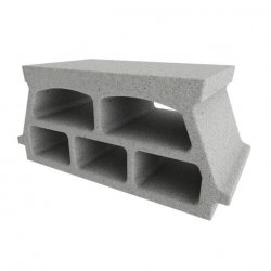 Konbet - Teriva 24/60 Plus ceiling block, 5-chamber, expanded clay