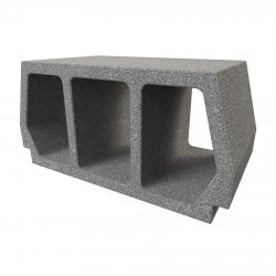 Konbet - Teriva 30/60 Medium hollow concrete block