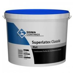 Sigma Coatings - farba lateksowa Superlatex Classic