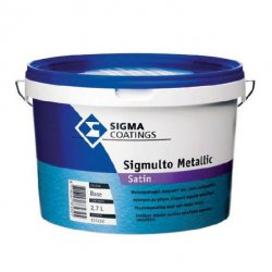 Sigma Coatings - Sigmulto Metallic Dekorfarbe