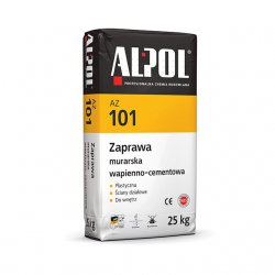 Alpol - cement and lime mortar AZ