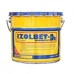 Izolbet - renovation rubber asphalt mass IZOLBET-Dr