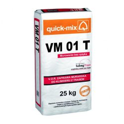 Quick-mix - clinker mortar with truss Tubag VM 01 T.