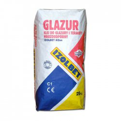 Izolbet - adhesive for glaze and terracotta frostproof isolbet KGm Glazur