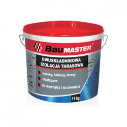 Baumaster - two-component terrace insulation