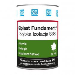 Icopal - asphalt mass for waterproofing foundations quick-drying Siplast Foundation Fast Insulation SBS