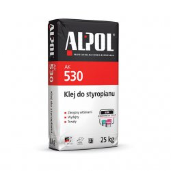 Alpol - adhesive for foamed polystyrene AK 530