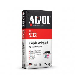 Alpol - adhesive for insulation on foamed polystyrene AK 532