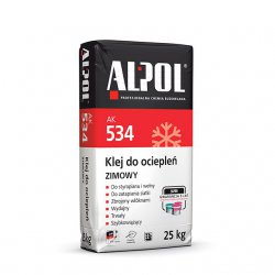 Alpol - AK 534 winter insulation glue