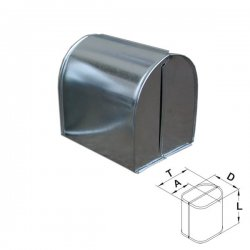 Xplo - protective sheet made of aluminum sheet - fitting hood