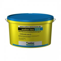 Weber Deitermann - protective coating Weber.tec 772 (Eurolan Color D)