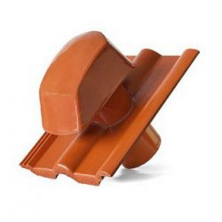 Braas Monier - concrete roof tiles - roof tile with vent for sanitary installation