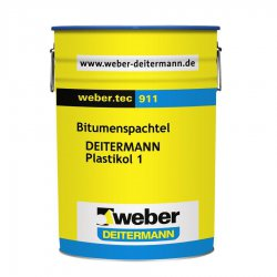Weber Deitermann - sealing compound Weber.tec 911 (Plastikol 1)