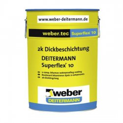 Weber Deitermann - 2-component sealing compound Weber.tec Superflex 10
