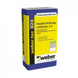 Weber Deitermann - micro sealing mortar Weber.tec 824 (Superflex D1)