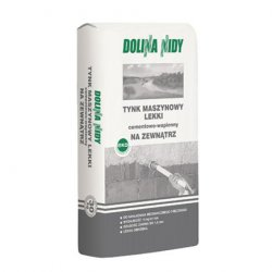 Dolina Nidy - lightweight cement-lime machine plaster