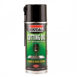 Soudal - cooling and lubricating agent for Cutting Oil drills and cutting tools