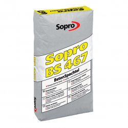 Sopro - szpachla do betonu BS 467