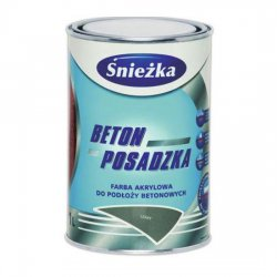 Śnieżka - acrylic paint for concrete substrates Concrete-Floor