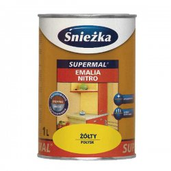 Śnieżka - cellulose enamel for wood and metal Supermal Enamel Nitro