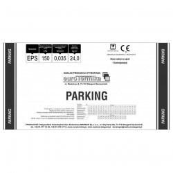 Eurothermal - Parking 150-035 foamed polystyrene board