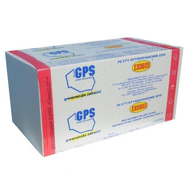 Ekobud Styropian Dach Podloga Uniwersalna Eps 038 Baustoffhandel
