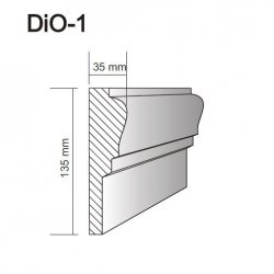 Tenax - DiO door and window frame