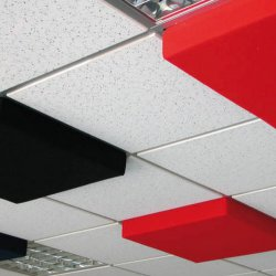 Xplo Acoustic insulation - Rexsound sound-absorbing ceiling and wall panel