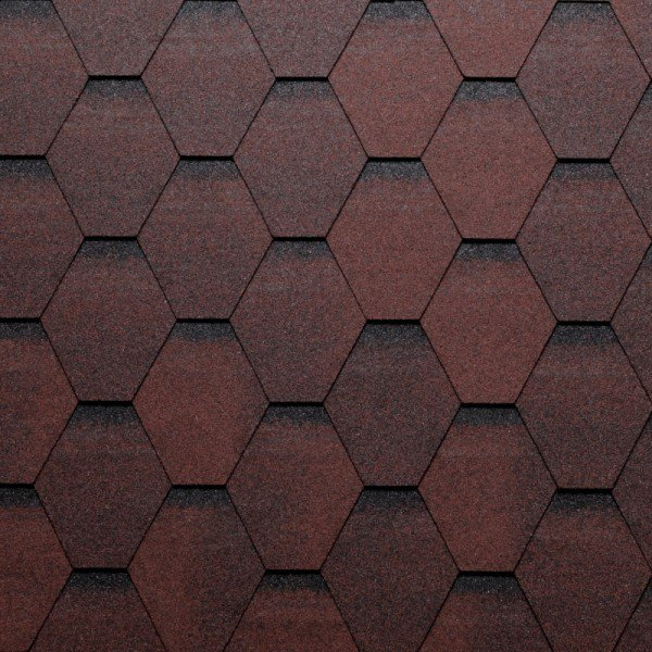 Tegola Dach 243 Wka Euro Polimeric Shingle Eco Roof Hexagonal