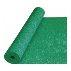 Acoustic - damping mat for floor panels