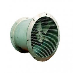 Convector - axial duct smoke fan WOK / OD
