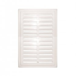Colibri - rectangular ventilation grille with KW adjustment