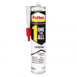 Pattex - klej One For All Crystal