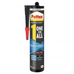 Pattex - klej One For All Transparent