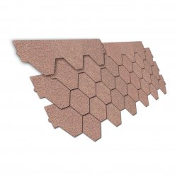 Isolmat - trapezoid asphalt shingle